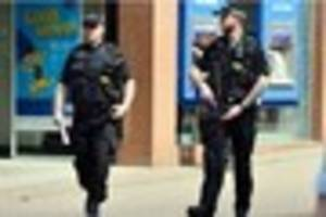 Armed police to increase presence across Cheshire during Bank...