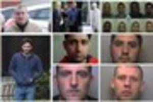 locked up: criminals jailed in north staffordshire in may 2017