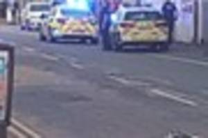 Man, 27, arrested after reports of fight on busy Stoke-on-Trent...