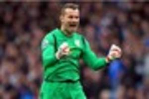 shay given leads six-man exit from stoke city