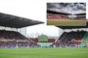 stoke release new pictures of work on bet365 stadium renovation