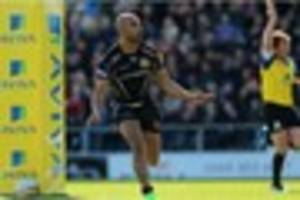 exeter chiefs name side to face wasps in saturday's premiership...