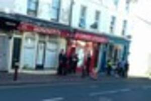 This is why police officers were seen outside a Tunbridge Wells...