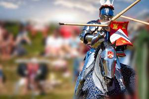 knights will go head-to-head for the attention of queen elizabeth i