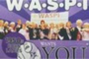 Burton WASPI pension women hold day of action in Coopers Square...