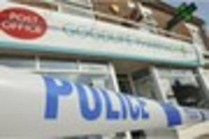 WATCH Business as usual after robbery at post office and pharmacy...