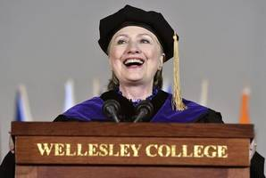 In Commencement Speech, Hillary Clinton Draws Parallels From Trump To Nixon