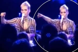 Katy Perry bursts into tears as she pays tribute to Manchester victims at intimate London gig
