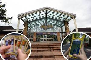 pokémon fun at m&d's theme park over the bank holiday weekend