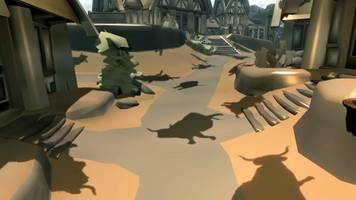 touch the skyrim: forming a living katamari in the sky