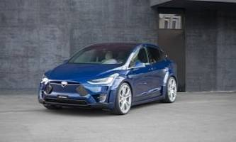 fab design releases model x body kit - the suv still looks bad, resembles a ford