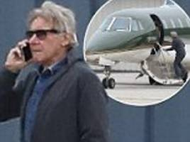 harrison ford aborts two take-offs from santa monica