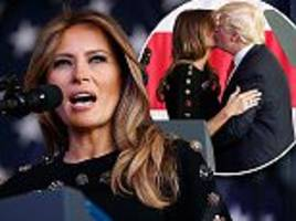 Melania Trump signs off after winning hearts on first trip