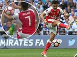 Alexis Sanchez FA Cup goal for Arsenal was rightly awarded