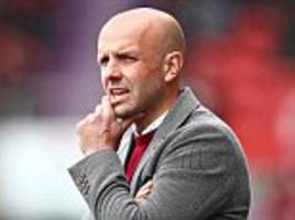 exeter boss tisdale eyes play-off win after sack calls