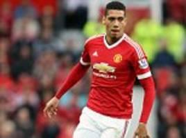 Man United star Chris Smalling pushing for England start