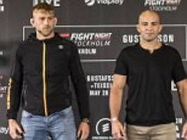 UFC Fight Night Stockholm preview