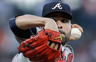 braves live to go: jaime garcia's arm, bat power braves past giants