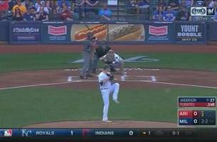 WATCH: Chase Anderson sets career high with 11 strikeouts