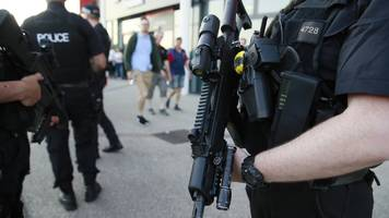 Manchester attack: Armed police patrol bank holiday events