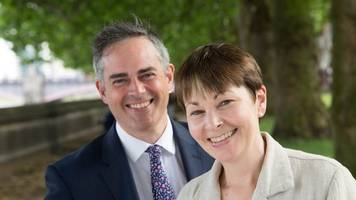 Profile: Green Party co-leaders Caroline Lucas and Jonathan Bartley