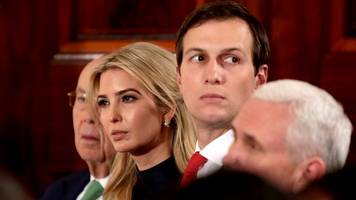 kushner role in white house suddenly unclear;  may return to private life