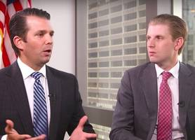 Amid Scandals, Don Jr. and Eric Trump Reportedly Met With GOP Leaders to Strategize