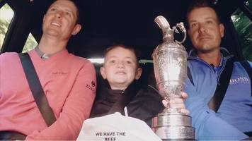 pga championship: rose, stenson, kaymer & 'beef' surprise golf fan