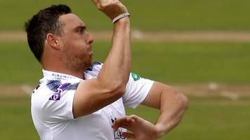 somerset v hampshire: hants bat and bowl better to set up finely poised finale