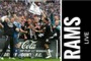derby county live: 10 years since rams' wembley win; grant hanley...