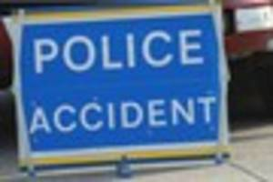 one airlifted to hospital after a1 crash which left two others...