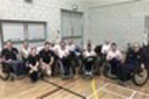 Leicester Tigers wheelchair rugby team finish third at BT...