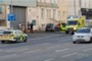 emergency services called to st john's road in tunbridge wells