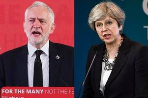 labour closing in on tories at uk level as new polls show theresa may's lead is shrinking