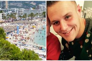 holidaymaker andrew phillips fell from a hotel balcony in magaluf and survived - this is how he has recovered