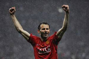 wales and manchester united legend ryan giggs revealed among stars who'll play on cardiff bay's floating pitch