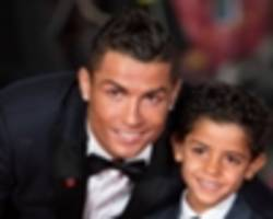 VIDEO: Cristiano Ronaldo Jr. makes daddy proud with tasty free kick