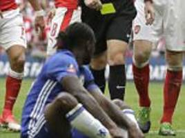 Chelsea star Victor Moses has dived before