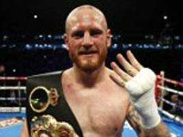 George Groves gets world title monkey off his back