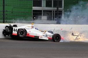 Injury report from the Indianapolis 500