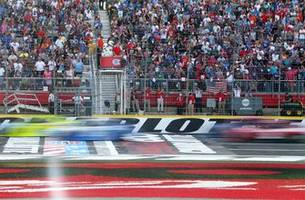 Top 10 drivers after Stage 1 of the Coca-Cola 600 at Charlotte