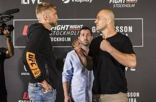 Follow the action from UFC Fight Night: Gustafsson vs. Teixeira