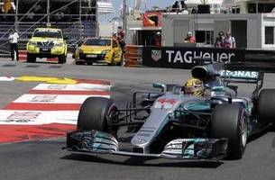 Lewis Hamilton salvages seventh after frustrating weekend in Monaco