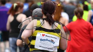 great manchester run: 'i'm running for the city'