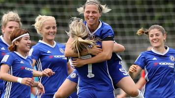 WSL 1 Spring Series: Chelsea hit seven past Liverpool as Arsenal beat Man City
