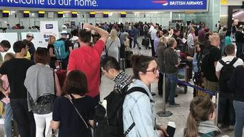 british airways: passengers complain about lack of information