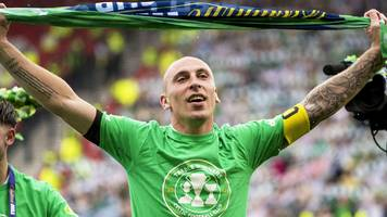 celtic treble: skipper scott brown hails the 'best' group in his 10 years at club