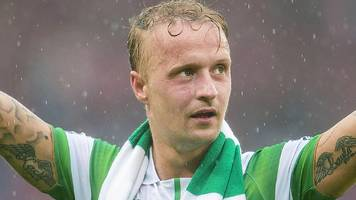 leigh griffiths: striker says treble triumph shows celtic can handle the pressure