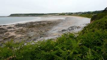 two campers injured in port eynon bay cliff fall