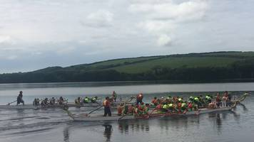 Welsh Dragon Boat Championship roars into reservoir